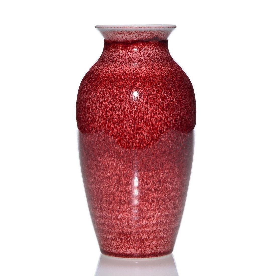 """Rookwood Oxblood vase, 1926, shape 534 D, 7 3/8"""""""