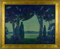 Randolph Coats OC nocturnal scene25 14 x 31 14
