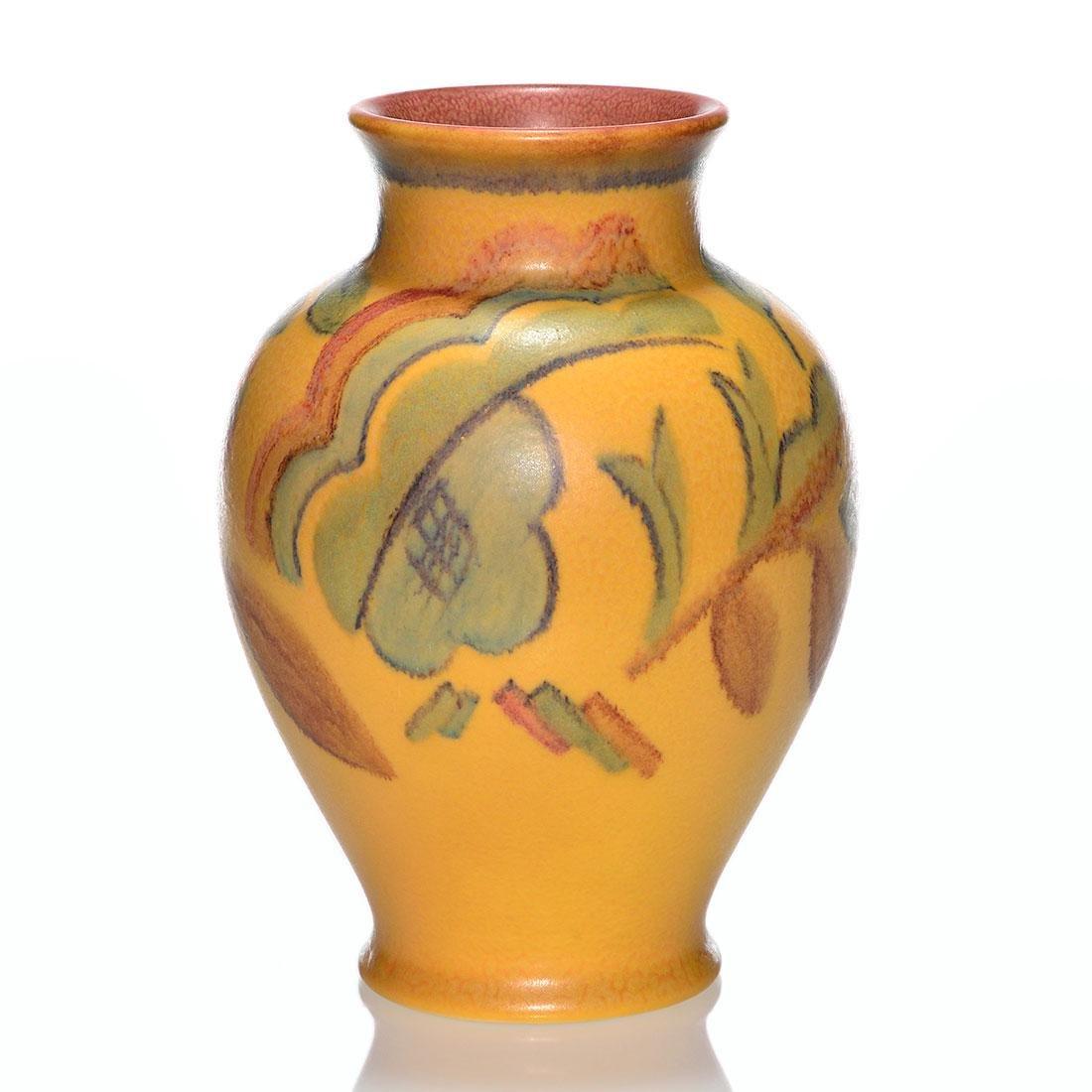 """Rookwood Mat Deco vase, Rehm, 1929, 2746, 9 3/8"""""""