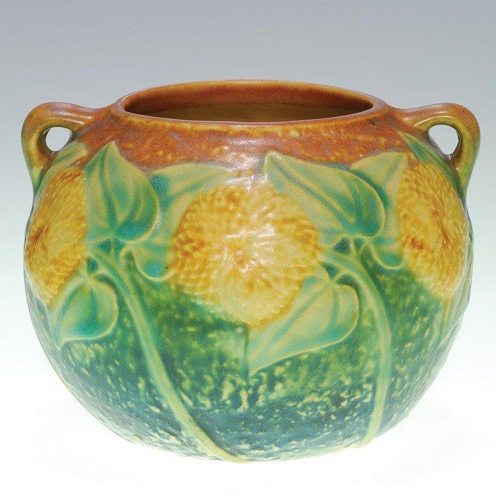 """8: Roseville Sunflower jard, 4 1/8"""""""