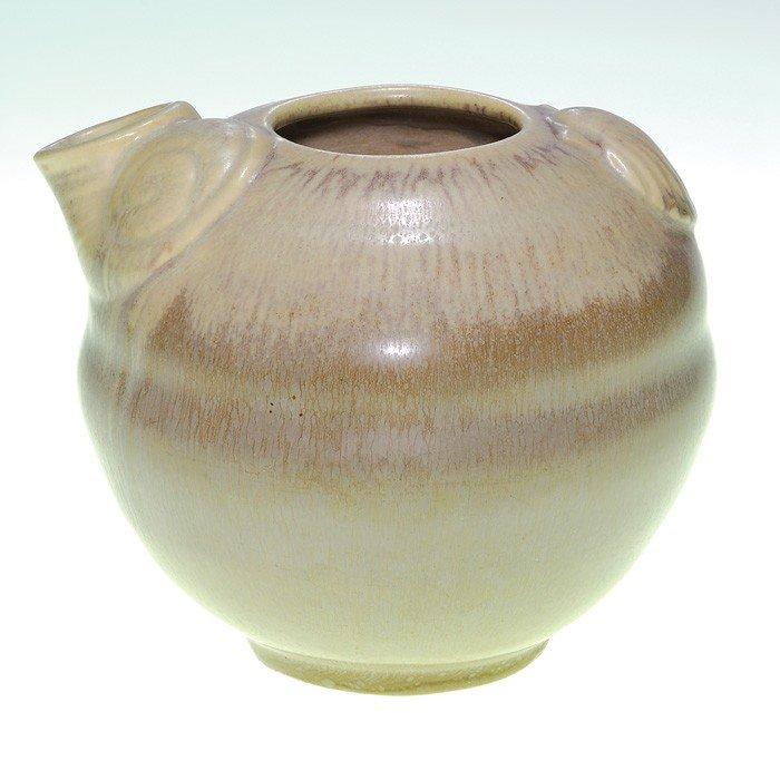 1015: Unusual Rookwood production vase, sea shells, '36