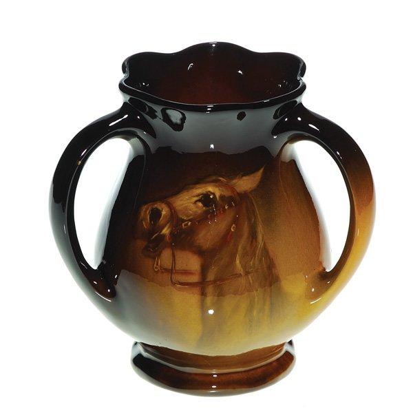 0148: Owens Utopian tyg, portrait of horse, Timberlake,