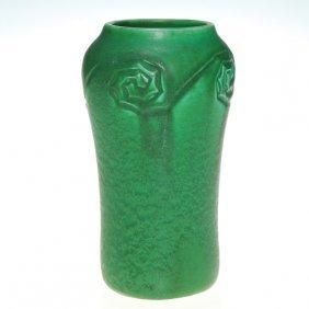 Rookwood Hand Incised Mat Glaze Vase, 1904, 935 D