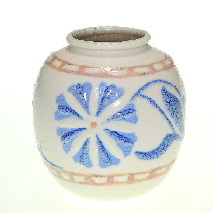 """Rookwood Butterfat vase, Holtkamp, 1944, 4 3/8"""""""
