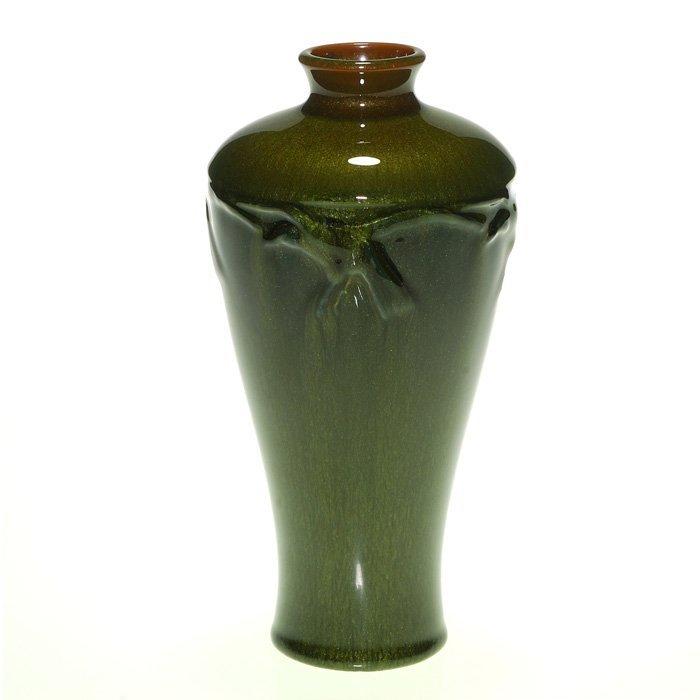 """Rookwood """"Rook"""" vase, aventurine, 7 1/4"""""""