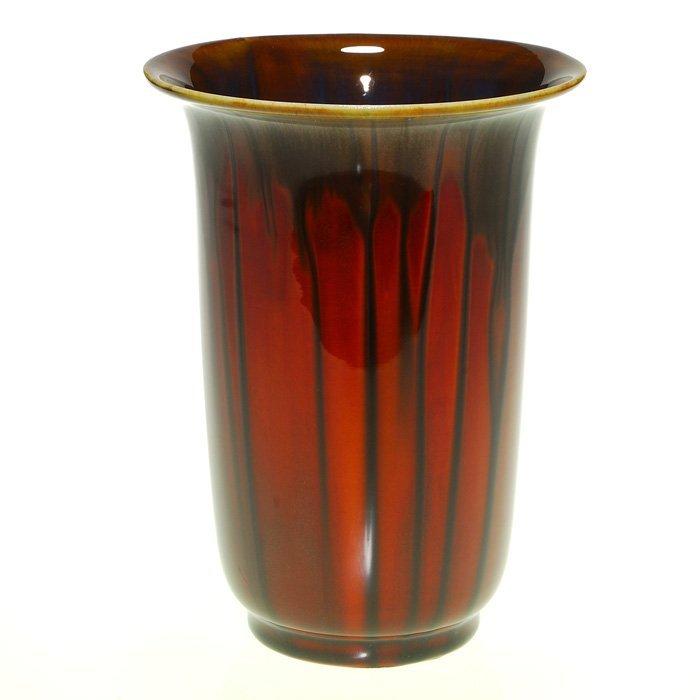 "Rookwood production vase, 1932, Coromandel, 7"""