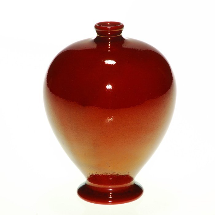 Rare Bailey's Red vase, Rookwood, 1895, 4 1/2""