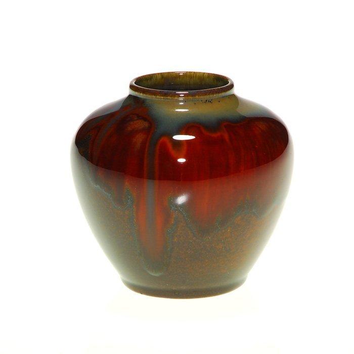 "Good Rookwood Coromandel vase, 1932, 3"""