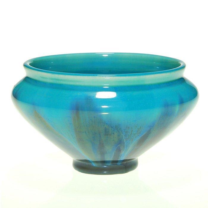 "Rookwood Glaze Effect bowl,1928, 3 1/8"""