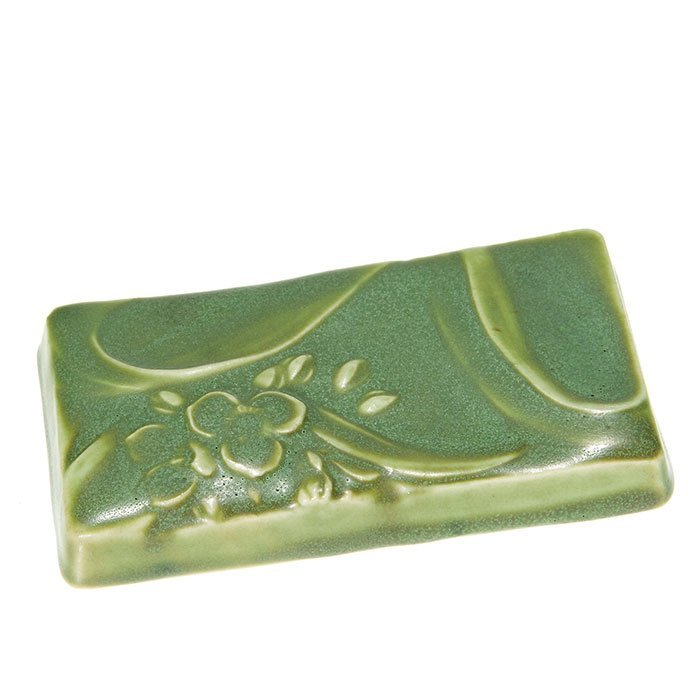 "Rookwood paperweight, 1904, 696Z, 2 5/8"" x 4 3/4"""