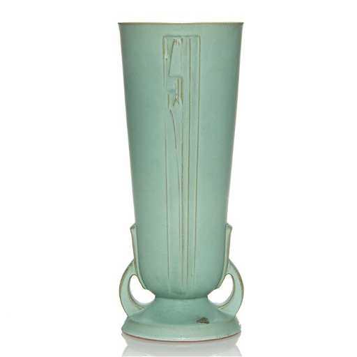 roseville moderne vase shape 803 14 14 5 8. Black Bedroom Furniture Sets. Home Design Ideas