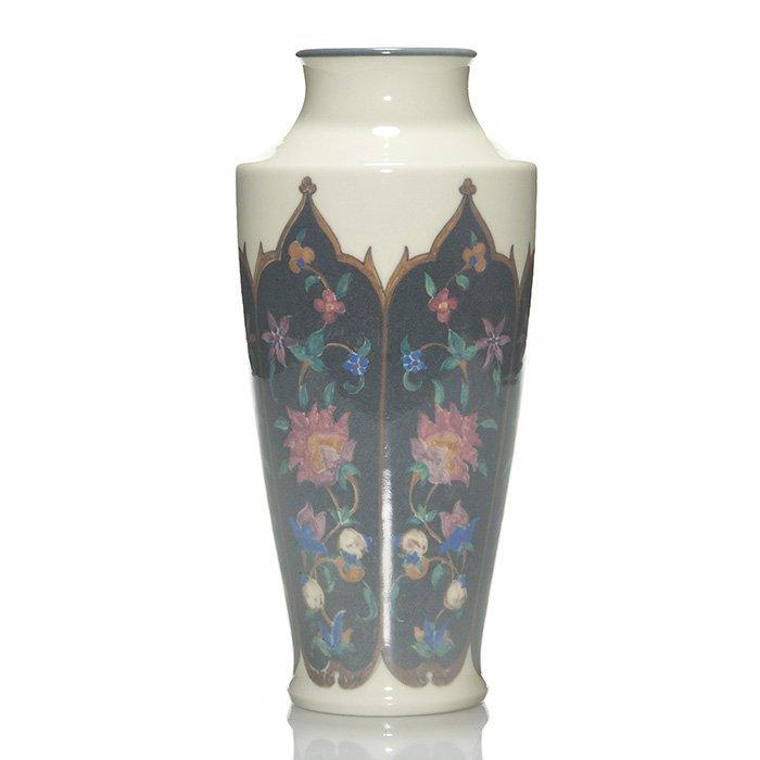 "Rookwood Porcelain vase, Conant, 1920, 9 3/8"""