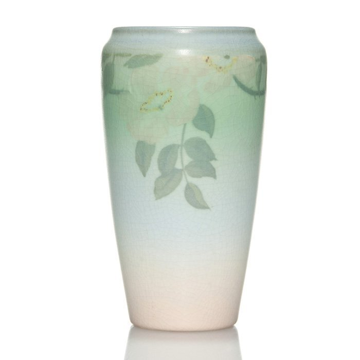 "Rookwood Vellum vase, McDonald, 1913, 1369F, 6"""