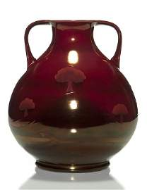 "Rare Moorcroft Hazeldene vase, lustre glaze 11 7/8"""