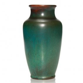 """Clewell Copper Clad Vase, 8 1/4"""""""