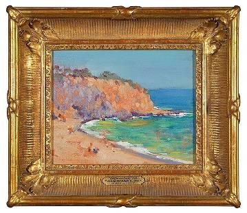 "Alson Skinner Clark California Coast, 8x10"""