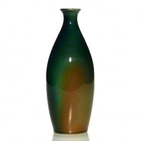 "Rookwood Sea Green Test Vase, Mcdonald, 7 7/8"""