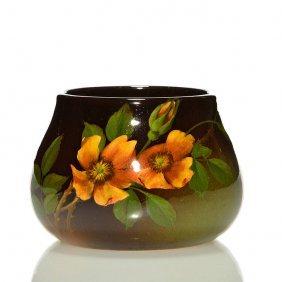 """Rookwood Standard Vase, Schmidt, 1899, 2 3/4"""""""