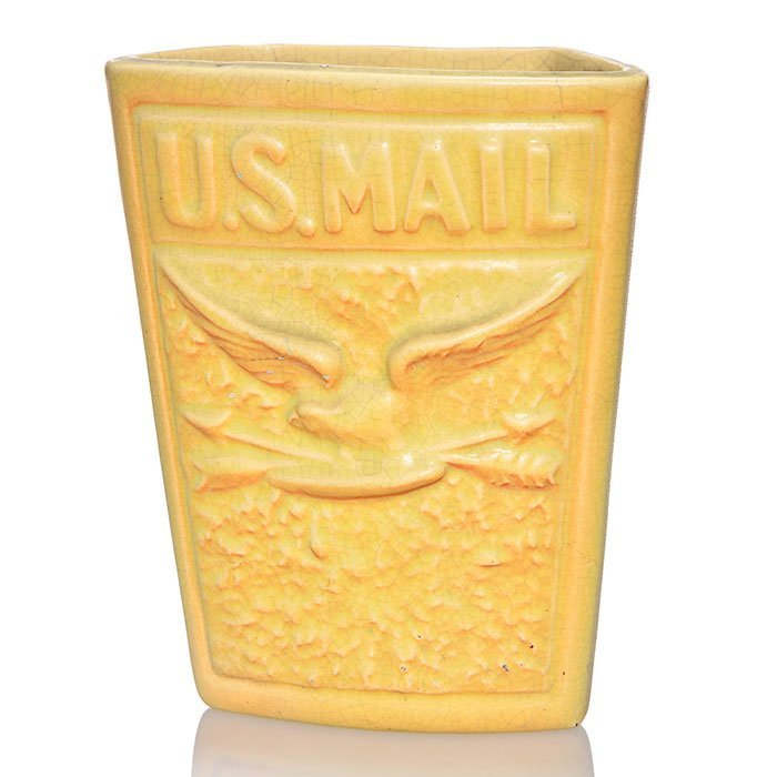 "Weller U.S. Mail wall pocket, 7 1/2"""