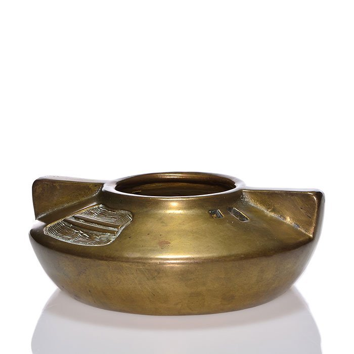 "Ferock bowl with Clewell copper, 2 3/4 x 7 7/8"" - 2"
