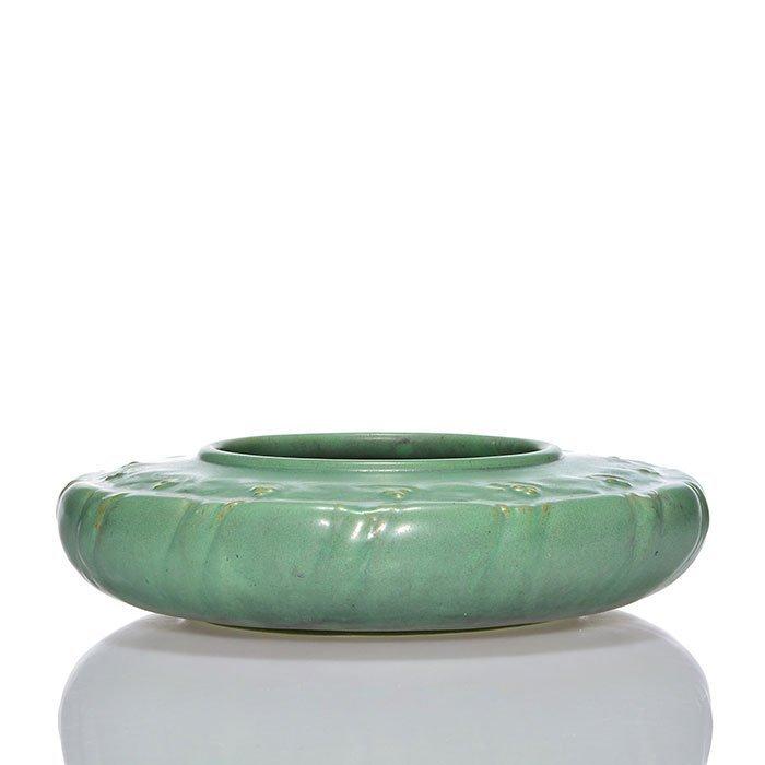 """Teco low bowl, floral pattern, green, 2 3/8 x 9 1/4"""" - 2"""