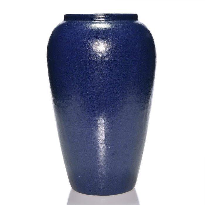 """Paul Revere Pottery 12 5/8"""", dark blue mat"""