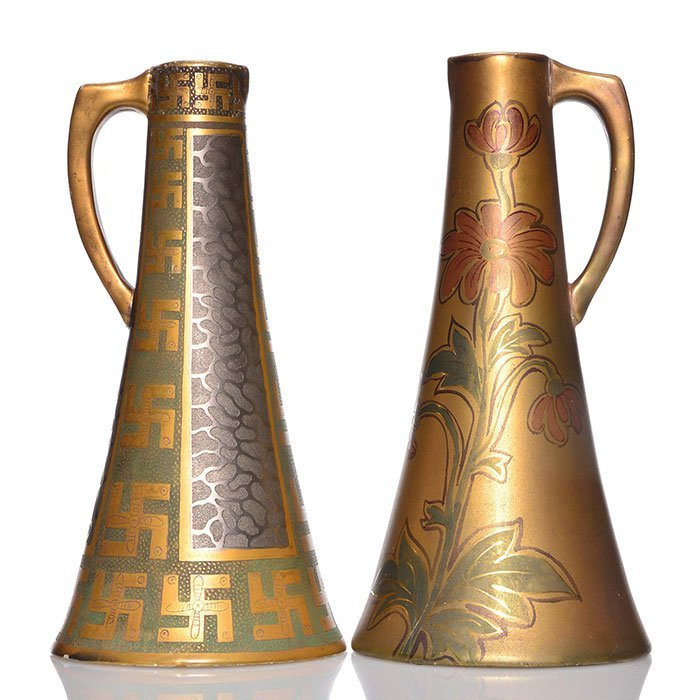 Pr Swastika Keramos pitchers, 10 1/2""