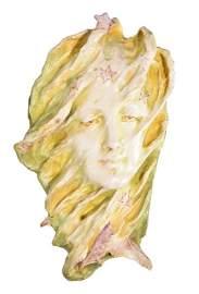 "Amphora R.St.&K mask, Ophelia, 15 1/4"""