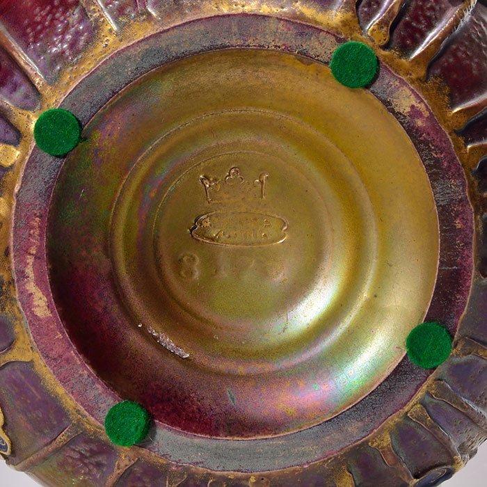 """Amphora Gres-bijou vase, young woman, 6 1/4"""" - 2"""