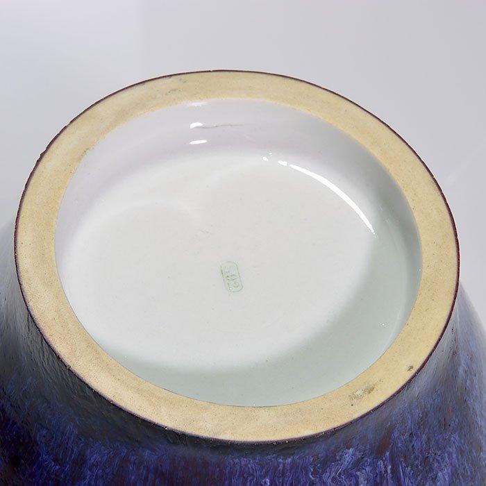 """2 Sevres Oxblood vases, reds, blues, 1892, 5"""", 9"""" - 4"""