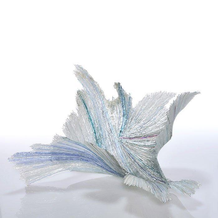 "Marilyn Alford Hydrosphere sculpture, 11""X21"", sig"