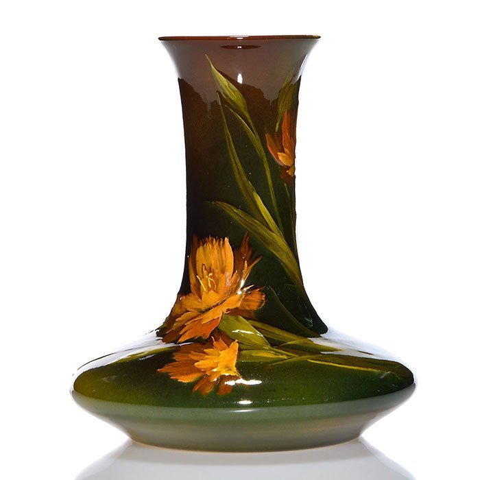 "Rookwood Standard vase, Dibowski, 1894, 749C, 7"""