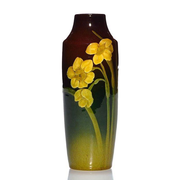 """Rookwood Standard vase, Lincoln,1905, 941E, 6 1/2"""""""