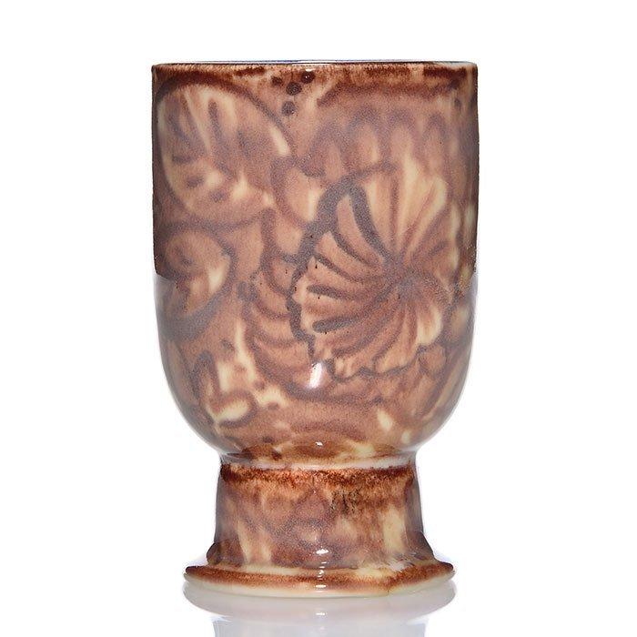 """Rookwood Porcelain vase, Jensen, 1943, 6185F, 5 1/2"""""""