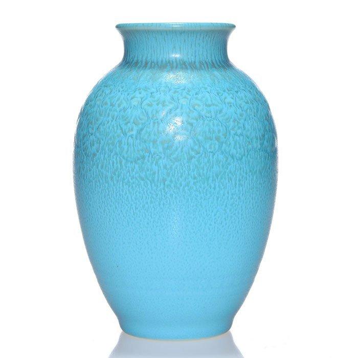 """Rookwood production vase, 1937, 6670, 6 1/2"""""""