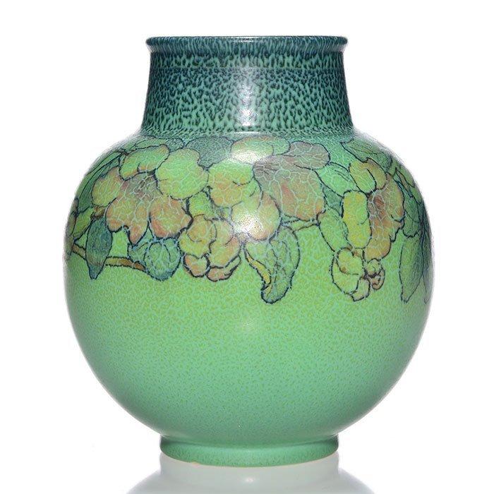 """Rookwood Mat vase, McDonald, 1929, 2969, 7 1/2"""""""