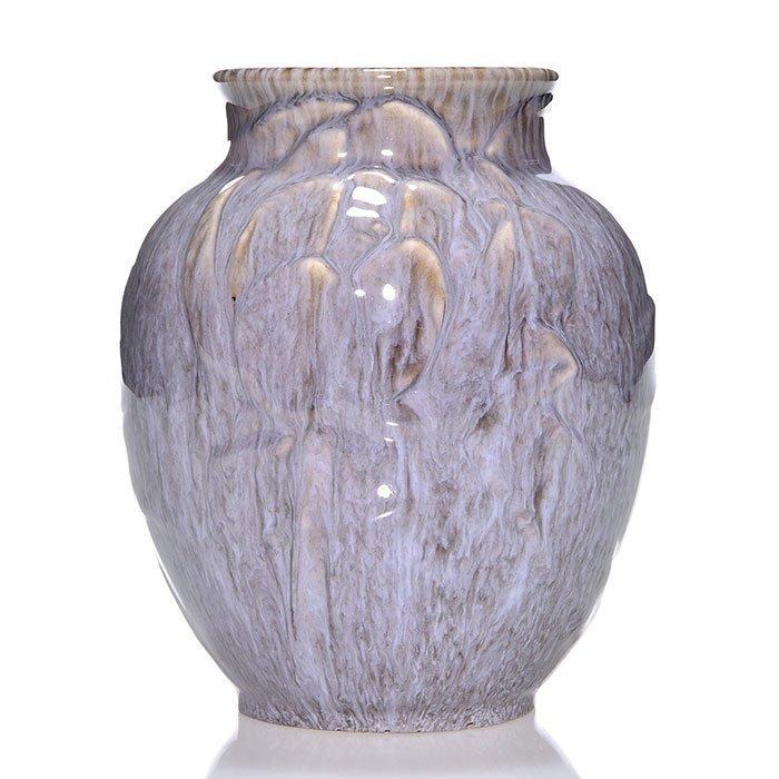 """Rookwood production vase, Violet Gray, 1949, 6 1/4"""""""