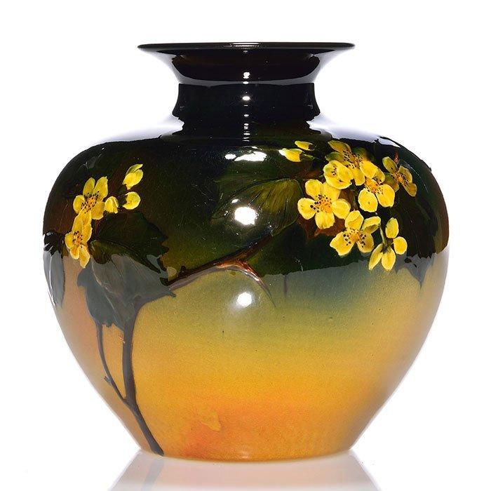 "Rookwood Standard glaze vase, Perkins, 1895, 6"""