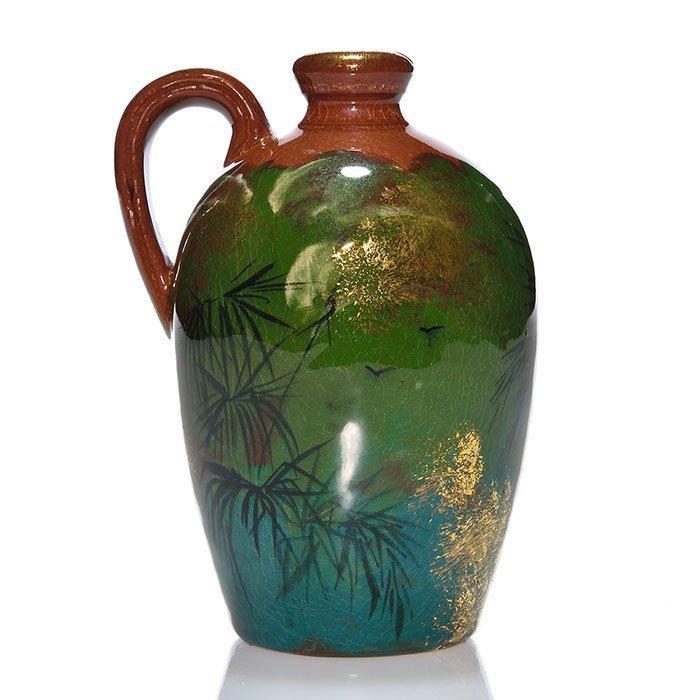 """Rookwood Limoges-style jug, 4 3/4"""", 1885"""