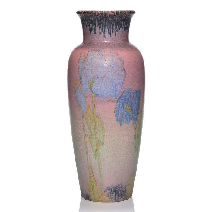 "Rookwood Mat vase, Coyne, 1924, 2785, 13 3/8"""