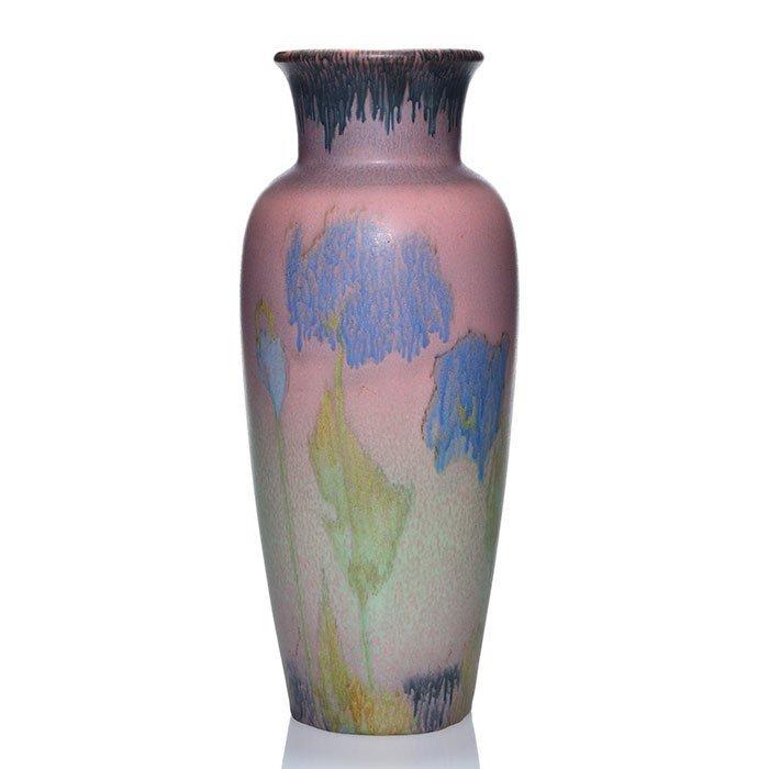 "Rookwood Mat vase, Coyne, 1924, 2785, 13 3/8"" - 2"