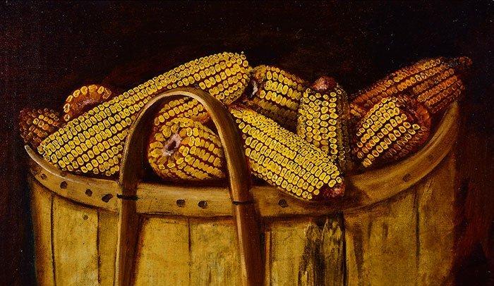 "Alfred Montgomery, O/C, Bushel of Corn,17 1/2 x 23 1/2"" - 3"