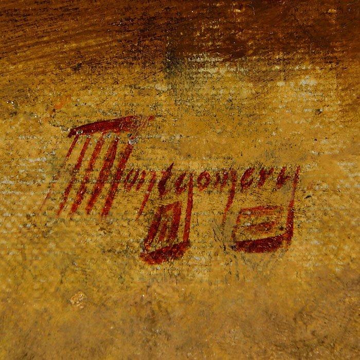 "Alfred Montgomery, O/C, Bushel of Corn,17 1/2 x 23 1/2"" - 5"