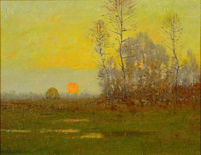 "Robertson Mygatt O/B, landscape, 9 3/4"" x 12 1/2"" - 2"
