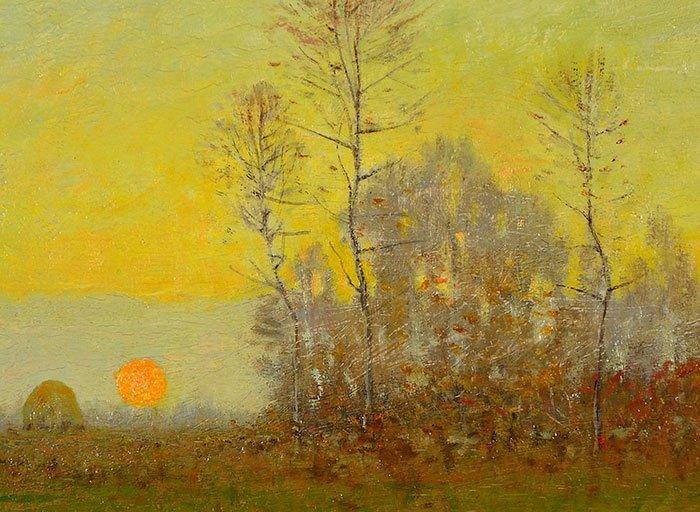 "Robertson Mygatt O/B, landscape, 9 3/4"" x 12 1/2"" - 3"