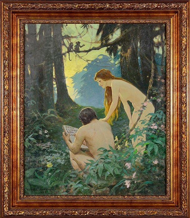 Victor C. Anderson, Life cover, Adam and Eve