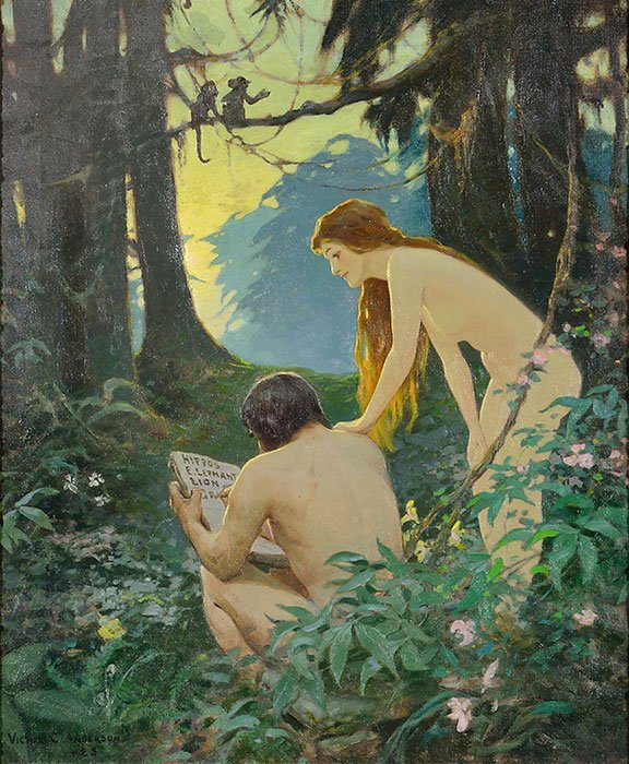 Victor C. Anderson, Life cover, Adam and Eve - 2