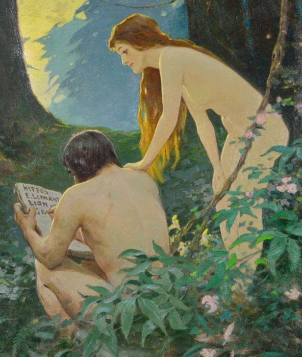 Victor C. Anderson, Life cover, Adam and Eve - 3