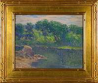 "Alice Roney Hardwick O/CB, landscape, 7 5/8"" x 9 1/2"""