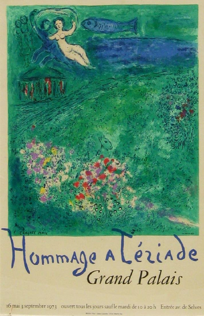 Marc Chagall, Homage a Teriade, Grand Palais (1973)